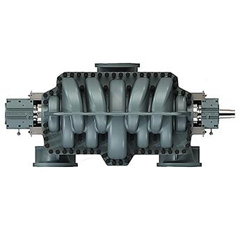 双进口轴向剖分多级离心泵
